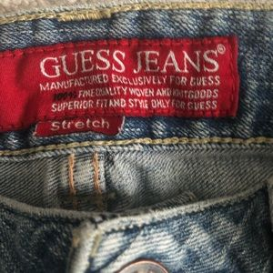 Guess Jeans - Guess Vintage Painted Wide Leg Jeans
